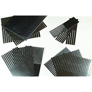 Handover : Set of 12 Graining Combs : 1 2 3 4 in Fine Medium and Coarse