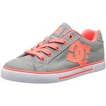 DC Shoes Chelsea Tx J Shoe Wid - Zapatillas de Skateboarding mujer