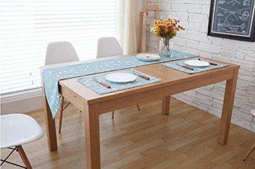 BiuTeFang Tischläufer Tischdecke Pastorale Wind, Bettwäsche, Fahne, Amerikanisch, Kaffeetisch, Tisch Flagge 30*200cm