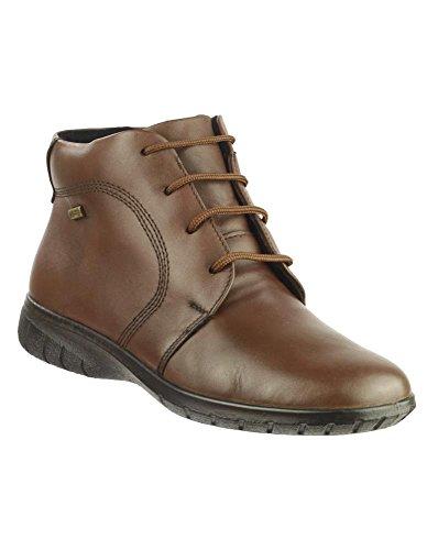 Neue Cotswold Bibury Damen Stiefeletten Schuhe Damen Schnürschuhe/Schuhe Braun