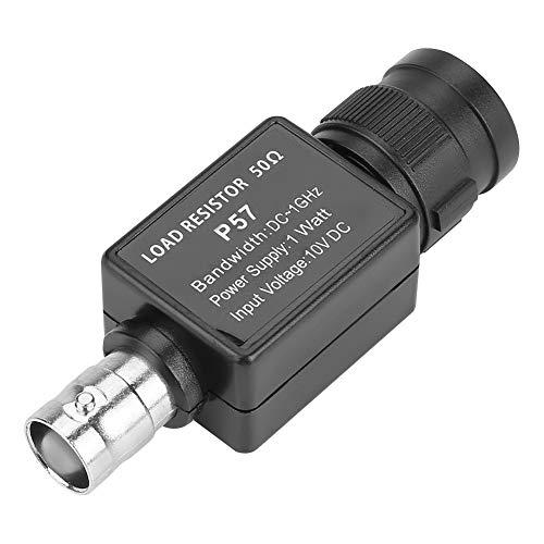 Widerstandsmessgeräte, P57 50ohm schwarz BNC auf BNC Buchse 50KY Q9 Adapterstecker Zubehör für Messwiderstand