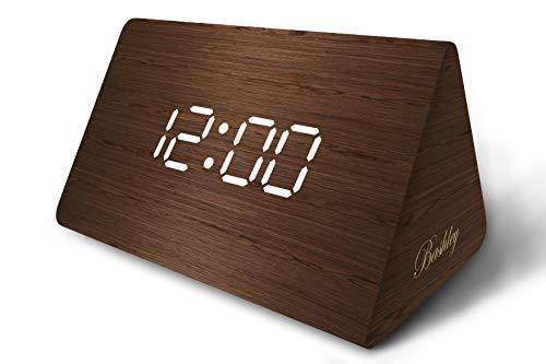 Bashley - Reloj Digital Escritorio Alarma