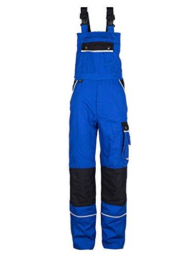 TMG - Herren Latzhose für Mechaniker/Klempner - Royalblau EU72