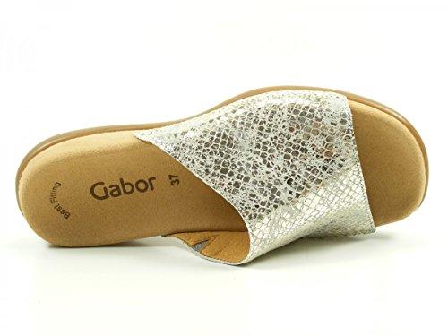 Gabor 63-705 Tongs femme Silber