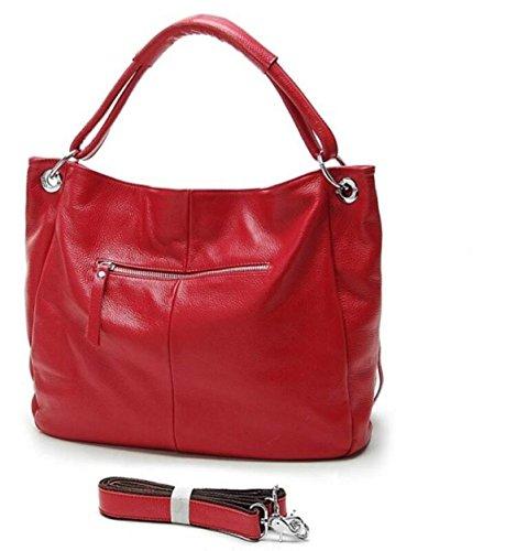Mode Europa Und Die Vereinigten Staaten Einfache Paket Freizeit Tassel Paket Red