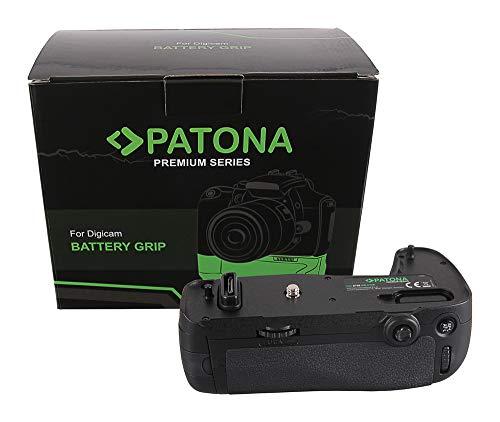 PATONA 1494 - Ersatz für Batteriegriff Nikon MB-D16 für D750 mit IR-Fernbedienung (Batteriefach für 1X EN-EL15 oder 6X AA)