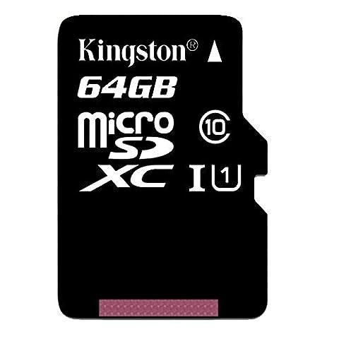Kingston - SDC10G2 - Carte MicroSD - 64 Go -