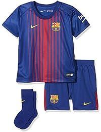 Nike FCB I NK BRT KIT HM - Equpación, Infantil, Azul - (DEEP ROYAL BLUE/UNIVERSITY GOLD)