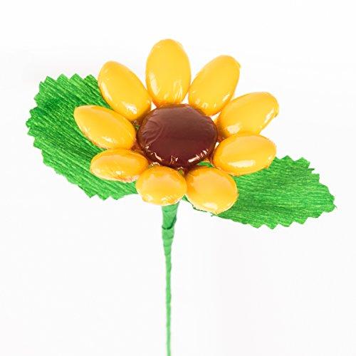 Girasole- fiore di confetto - confetti pelino di sulmona
