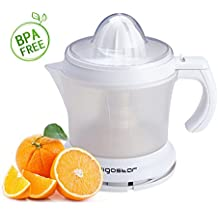 Aigostar Morgen 30HIM - Spremiagrumi. BPA Assente. Color Bianco. Potenza 30W. Capacità 1L.