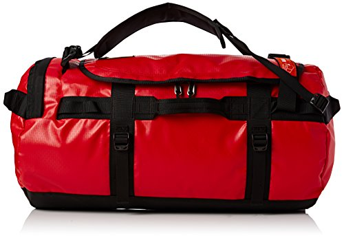The North Face Unisex Reisetasche Base Camp, Tnf Red/Tnf Black, 76 x 44 x 35 cm, 90 Liter, T0CWW1KZ3 (Large Duffle)