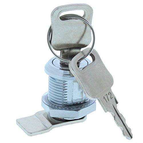 ToniTec Briefkastenschloss HebelZylinder universal M19 x 16 mm