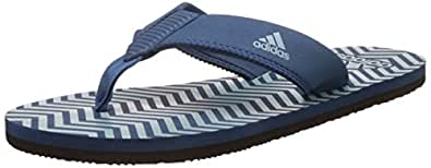 Adidas Men's Inert M S Corblu and Tacgrn Flip-Flops and House Slippers - 11 UK/India (46 EU)