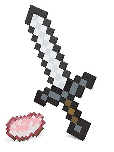 Minecraft Schwert Iron Sword & Porkchop