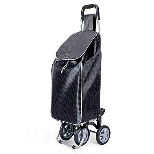 Metaltex Trillium - Carro de Compra con 4 ruedas