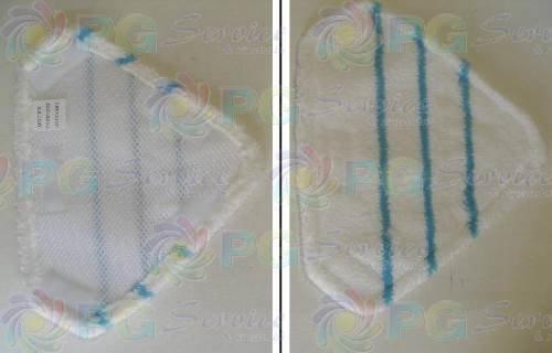 Ariete panno microfibra triangolare scopa a vapore lavapavimenti Steam Mop 4162