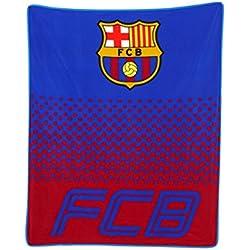 Equipo de Fútbol Oficial manta de Vellón palos de (Varios disponible), Barcelona FC