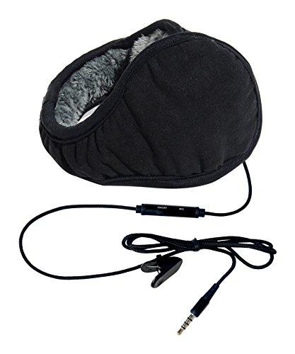 Hi-Fun hi-Ear Nappa Multimedia-Ohrenschützer schwarz