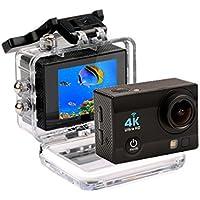 CkeyiN®4K Ultra HD Wi-Fi Cámara Deportiva (Lente 170º)