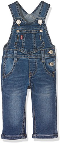 Levi's Baby Boys' Overall Timmy Dungarees, Bleu (Denim), 12-18 Months (Manufacturer Size:12Months)