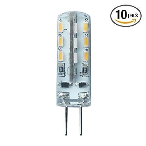 lumilife 1,5W G4LED spot–ampoule halogène de rechange–10–Lumière du jour–Expédié depuis le Royaume-Uni–Classe énergétique A +