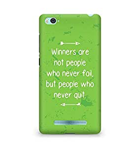 AMEZ but people who never quit Back Cover For Xiaomi Mi4i