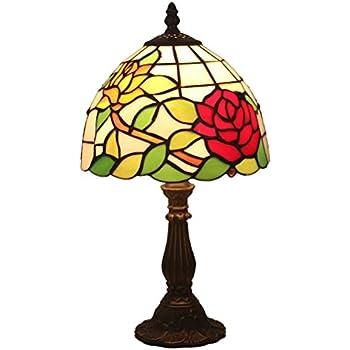 Fabakira De Chambre Pouce Table 8 Européenne Baroque Lampe Tiffany eEDIH2W9Y