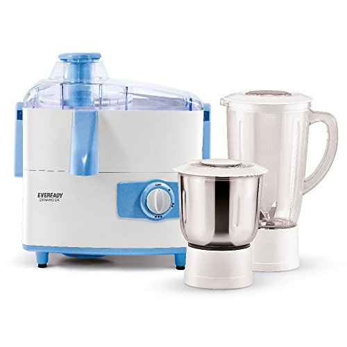 Eveready Dynamo Dx 450W Juicer Mixer Grinder with 2 Jars