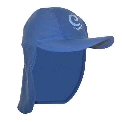 Boys-Blue-Surf-Sun-Protection-Legionnaire-Cap-UPF-50-3-6-Years-6-10-Years-and-10-years-plus