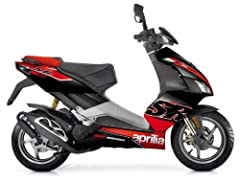 Idea Regalo - Aprilia SR 50 R Mofa, colori: Racing Edition Alitalia Replica