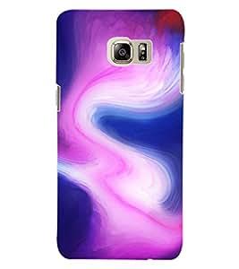 ColourCraft Colour Abstract Design Back Case Cover for SAMSUNG GALAXY S6 EDGE PLUS