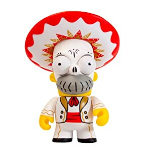 Kidrobot - Figurine - Les Simpsons - Day of the Dead Homer - 0883975129880 3