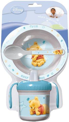 Disney Winnie the Pooh Set Pappa Prima infanzia 3 pezzi baby