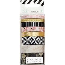 American Crafts Heidi Swapp Magnolia Jane Washi Tape Rolls 8/Pkg-