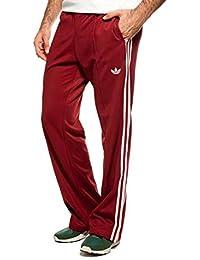 433faabf0fbb62 adidas Originals Beckenbauer TP Trainingshose Hose Sporthose WEINROT  Bordeaux