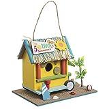 Wedestock - Caseta para pájaros, decoración de Caravana Tropical para Colocar ...