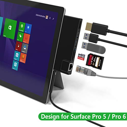 Bawanfa Surface Pro 5/6 USB Hub mit