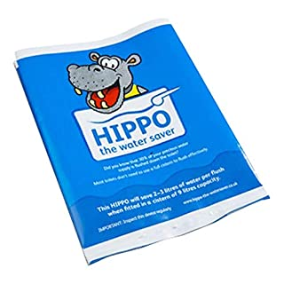 2 x Hippo Water Saver - 9L Water Saving Hippo Bags by Hippo The Water Saver