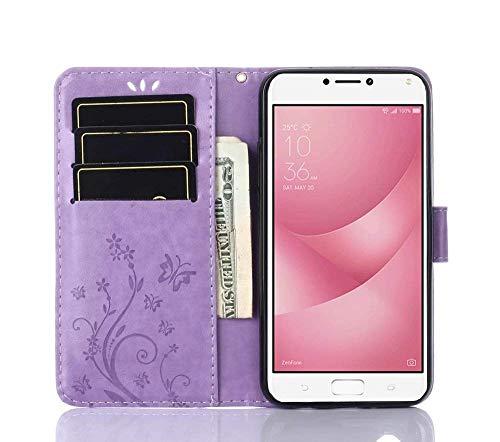 Wallet Cover per Asus Zenfone 4 Max ZC520KL