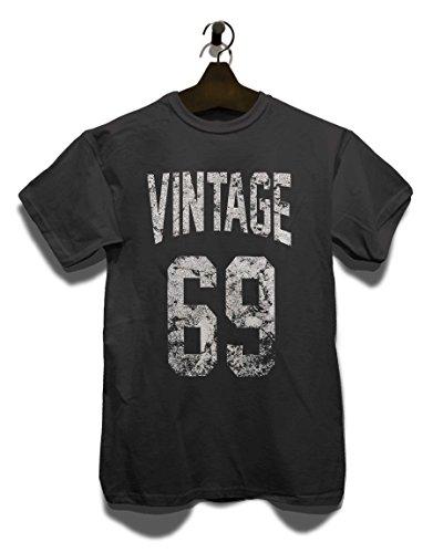 Vintage 1969 T-Shirt Grau