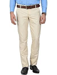 VitoDario Mens Cotton Casual Slim Fit Trouser