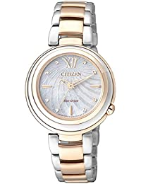 Citizen Damen-Armbanduhr XS Citizen L Analog Quarz Edelstahl EM0335-51D
