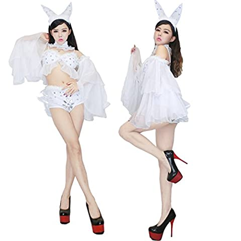 Adulte Deluxe Lapin - Nihiug Sexy Dress Sexy Rabbit Girl Service