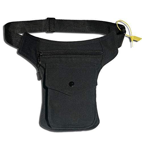 HAND-PRO Riñonera Lateral Hombre Bolso Cintura Pierna