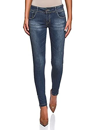 Image indisponible. Image non disponible pour la couleur   oodji Ultra  Femme Jean Skinny avec ... 9a33ac2efcb9