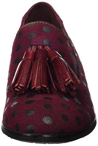 Laura Vita Damen Claudie 05 Slipper Rot (Wine)