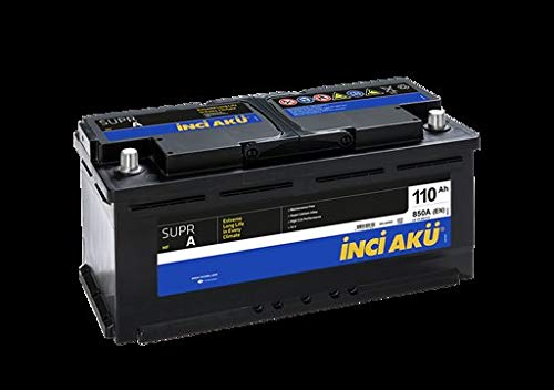 INCI AKU Batteria Auto Originale L6 110Ah 850A (EN)