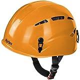 ALPIDEX Casco de Escalada Universal Argali Casco de ferrata en Modernos y Variados Colores, Color: Sunset Orange