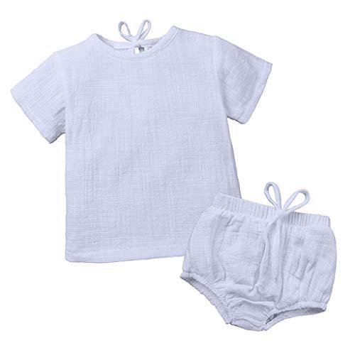 es Säuglingsbaby Junge Mädchen Spielanzug Strampler Mit Kapuze Bunt Gestreift Overall Jumpsuit Kleider ()