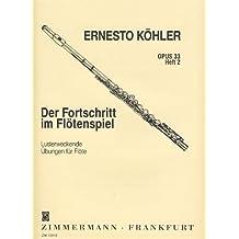 KOHLER E. - Estudios Op.33 Vol.2º para Flauta (Veggetti)